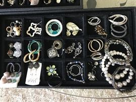 Tons of costume jewelry........