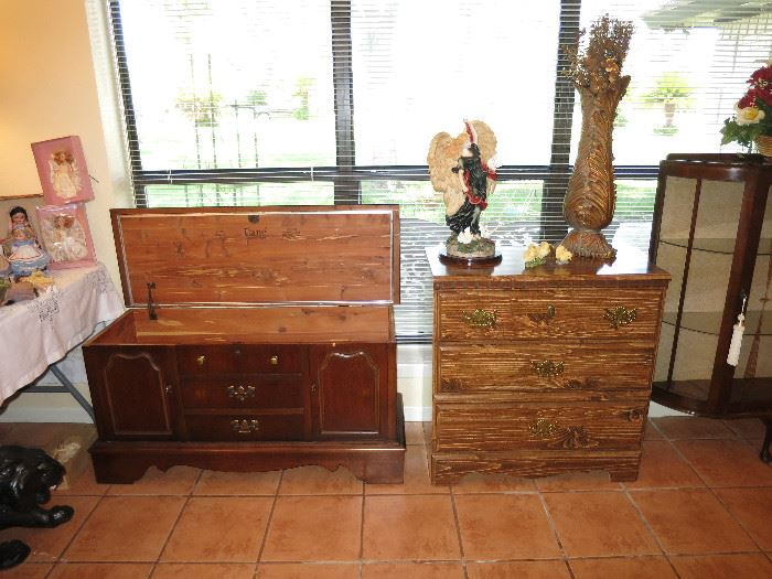 Lane Cedar Chest, Three Drawer Chest of Drawers