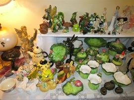 Frog Dishes And Decor