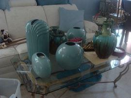 beautiful ceramic or stoneware