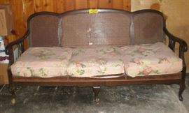 Sofa, great for a porch, was $40, marked down to $10!