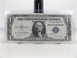 1935-E U.S. One Dollar Silver Certificate