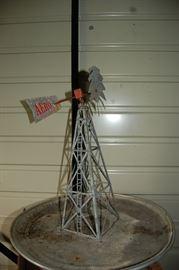 Rare Aerometer Salesman Sample Windmill