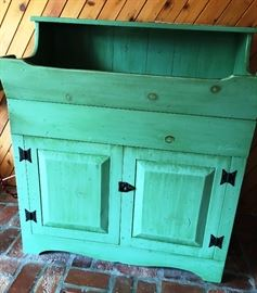 Green dry sink