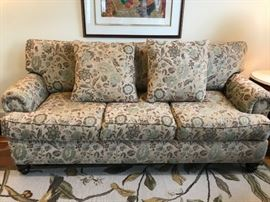 Walter M. Smithe down- filled sofa-$800.00