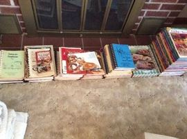 nice collection of cookbooks