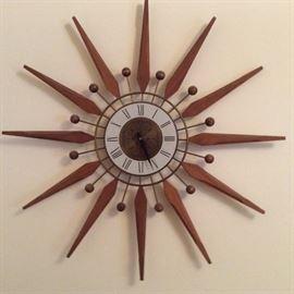 General Time starburst clock