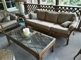 Tommy Bahama Rattan furniture