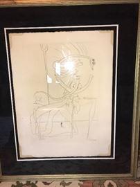 Salvador Dali signed