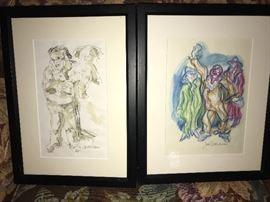 2 John McIntyre etchings