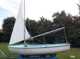 Zef 12' sailboat