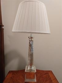 Yep, this Ralph Lauren thing was $1,200.00 when new. That's each lamp. Rich people - sheeesh!                                                            ;-)