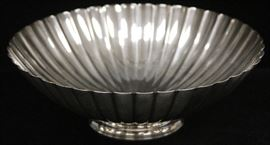LOT #5014 - GEORG JENSEN STERLING SILVER CENTER BOWL