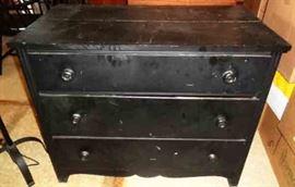 Vintage 3-Drawer Dresser