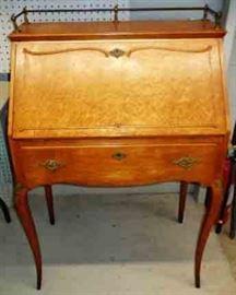 Antique, Slant-Front Writing Desk