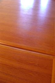 The wood has been protected under matting for 50 years.