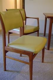 Arm and side chair.