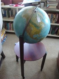 Lighted globe