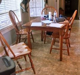 Oak kitchen set