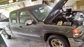 1999 GMC Sierra.  Original motor works great.  Needs TLC.  Bid on this truck by calling 931-841-0811.