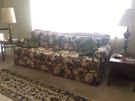 Beautiful upholsterd sofa