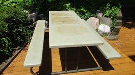 Lifetime Plastic Picnic Table