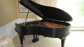 Mason and Hamlin grand piano, completely refurbished, excellent condition