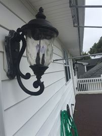 Exterior Entry Light, matches other exterior lights on house.  $50 each hanging, wall mount $50, pole $60