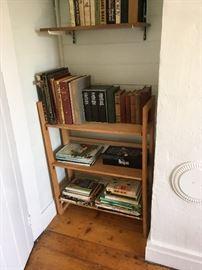 Conran's bookshelf from 1978.