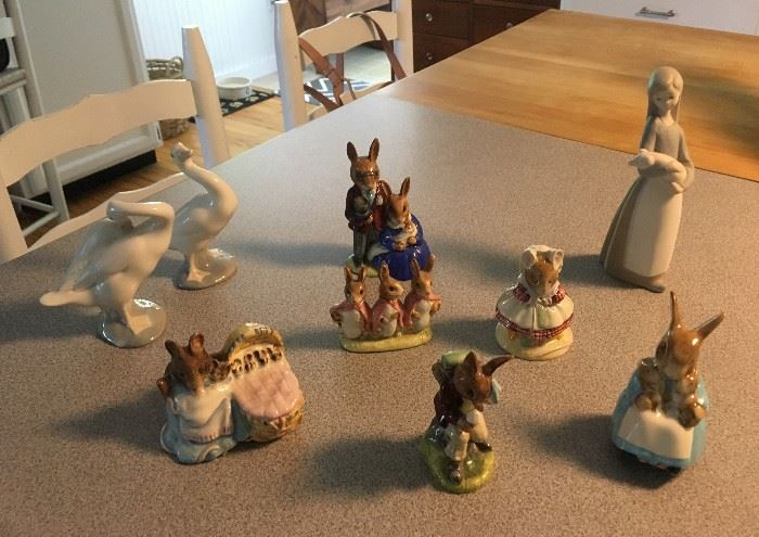 Lots of great (some vintage) collectibles...Lladro, Royal Doulton and much more!