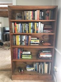 This End Up bookcase for sale.  This was purchased in 1979.   Books and handmade artisan decoys are not for sale but we do have other folk art for sale!
