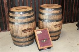 Genuine Jack Daniel's Whisky Barrels.