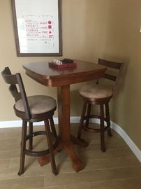 Pub height game table