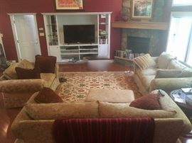 All furniture for sale including sofas, chairs & tables