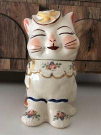 Shawnee Cat Cookie Jar