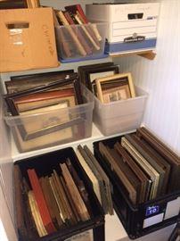 Lots of vintage frames