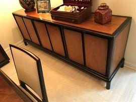 John Stuart Danish designer mid century mahogany buffet - $ 475.00