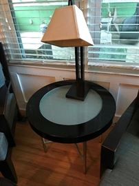 Round End Table $ 80.00
