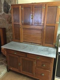 1020's Hoosier Cabinet, made in Macon TN, refinished in 1999