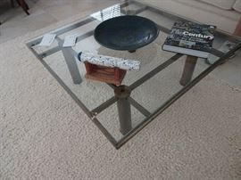 "Coffee Table 37"" X 37"" - Rug  96"" X 60"""