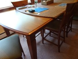 High Top Kitchen Table seats 8