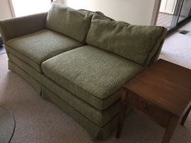 Additional section to sectional - complete semi-circle if all together and side table/nightstand (2 available)