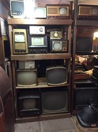 Vintage Table Top and Portable Televisions