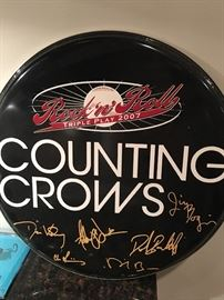 Counting Crows Drumhead