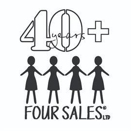 Four Sales 40years plus Logo