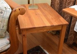 Knotty Pine End Table (Ikea)