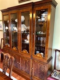 Councill Breakfront China Cabinet
