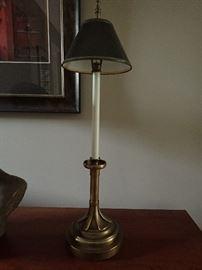 BUFFET LAMPS BRASS