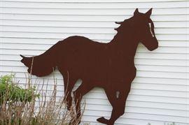 Iron Horse Silhouette