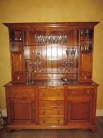 Stickley sideboard and hutch